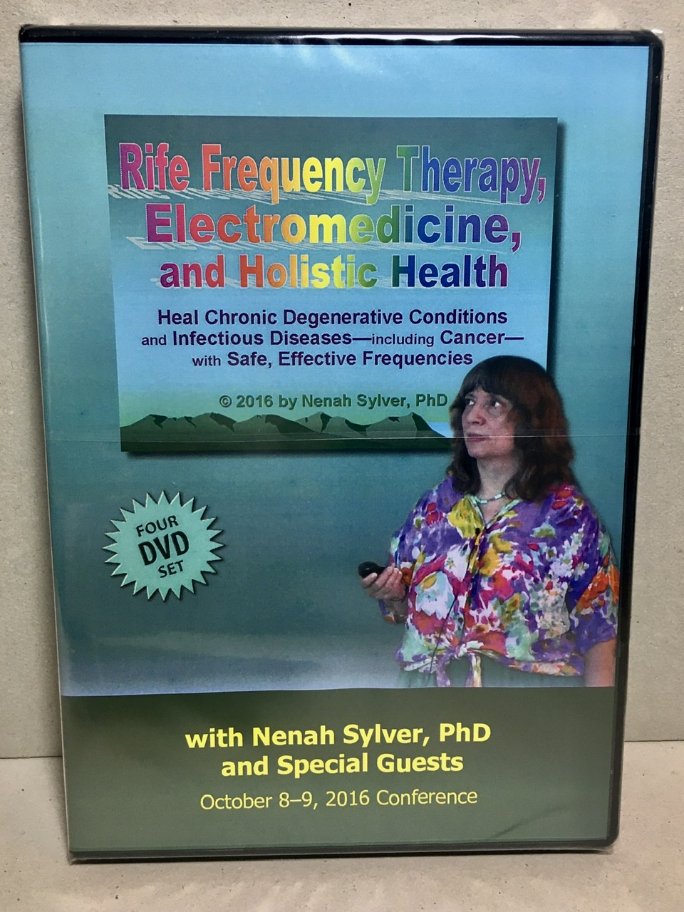 Image for Rife Frequency Therapy, Electromedicine, and Holistic Health 4-DVD Course SPECIAL SALE PRICE