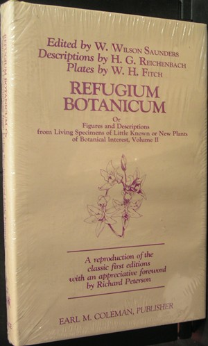 Image for Refugium botanicum: Or, Figures and descriptions from living specimens of little known or new plants of botanical interest : volume II (Orchid library)