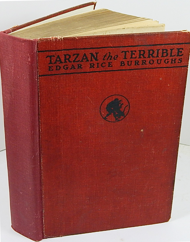Image for Tarzan the Terrible - Fist Printing (McClurg) 1921 by Edgar Rice Burroughs;  J. Allen St. John, Illustrator