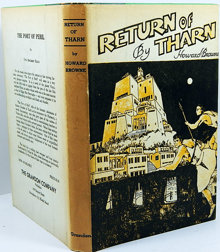 Image for Return of Tharn - First Edition by Howard Browne