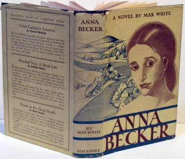 Image for Anna Becker; 1st Edition/Printing by Max White
