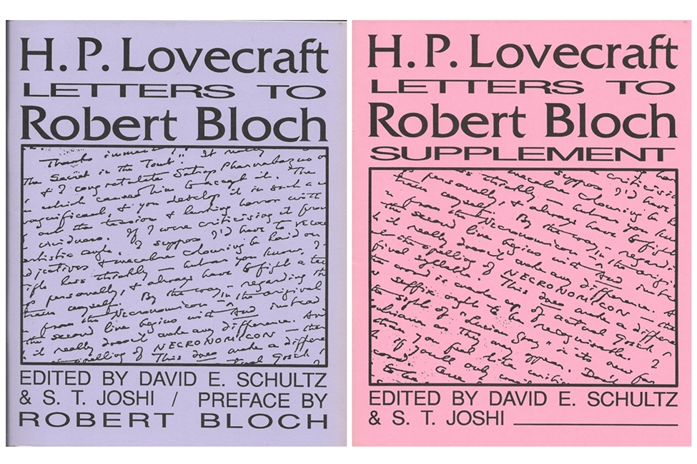 Image for H. P. Lovecraft Letters to Robert Bloch and Supplement (2 Vols)