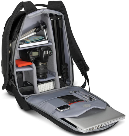 Image for NEW MANFROTTO Veloce V Black Camera Laptop Backpack DSLR/Digital New Top Rated