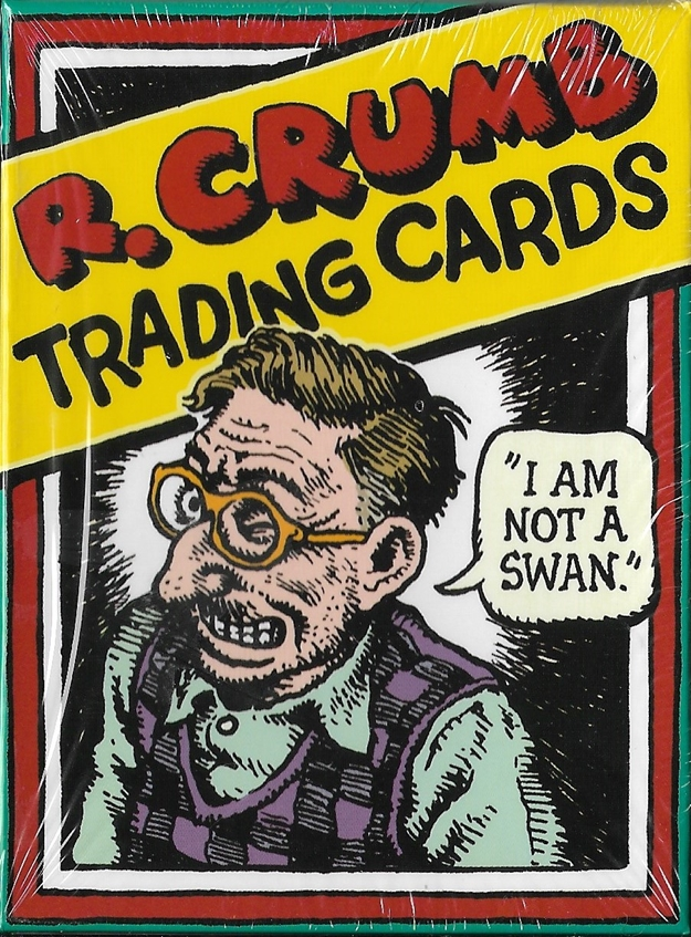 Image for R. Crumb 36 Character Boxed Trading Card Set NEW 2010