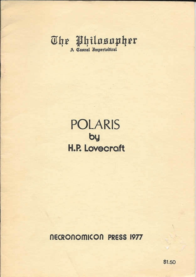 Image for Polaris - The Philosopher a Casual Imperiodical