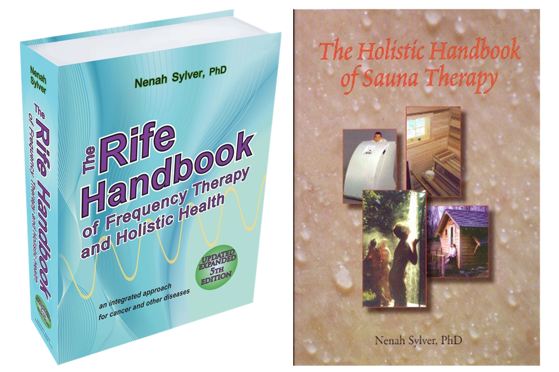 Image for Rife Frequency Healing Book 5th Edition AND The Holistic Handbook of Sauna Therapy (2 Book Special)