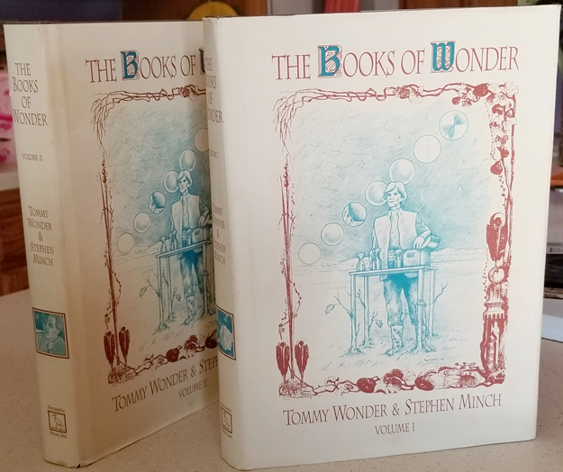 Image for The Books of Wonder, Volumes I & II (1, 2) by Tommy Wonder, Stephen Minch; Kelly Lyles, Illustrated by