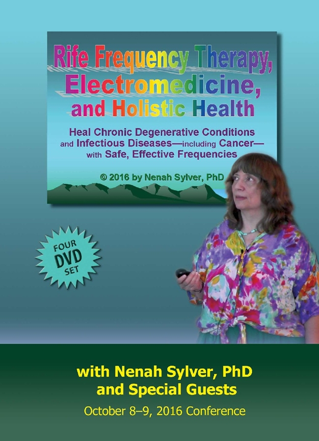 Image for Rife Frequency Therapy,      Electromedicine, and  Holistic Health Conference 4 DVD Set ((Special SALE  - $64 off ))