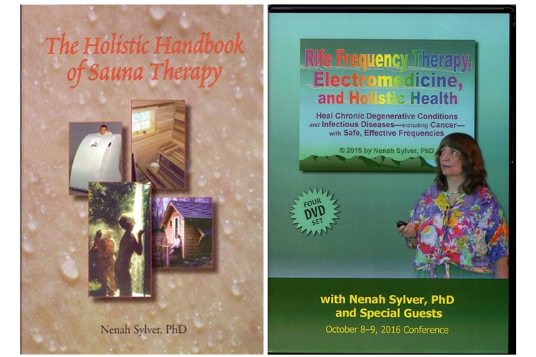Image for Rife Frequency Therapy, Electromedicine, and Holistic Health Conference (4 DVD Set) AND Handbook of Sauna Therapy (Special 2 Pack)