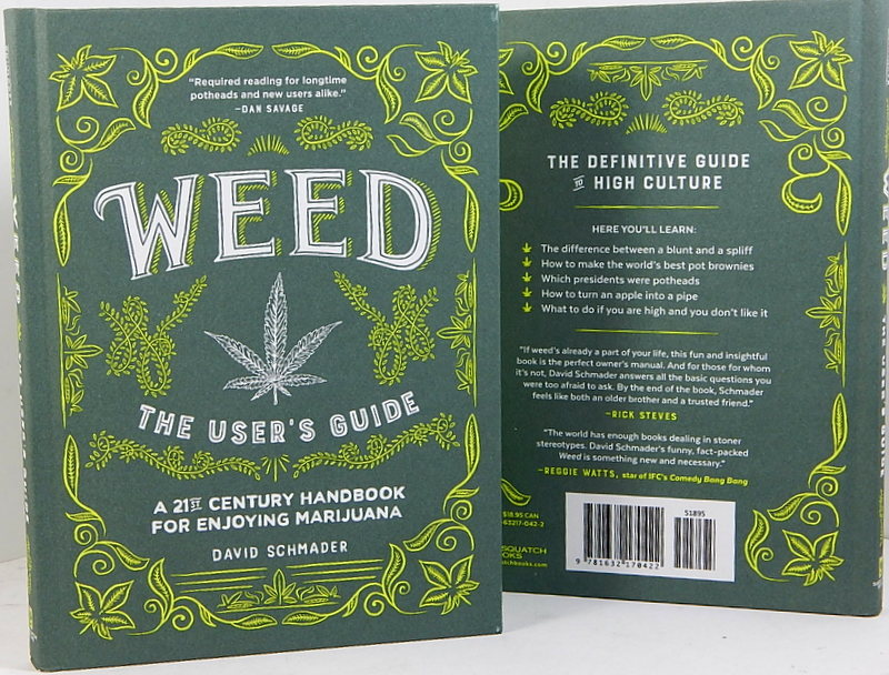 Image for WEED  The User's Guide  A 21st Century Hanbook for enjoying Marijuana