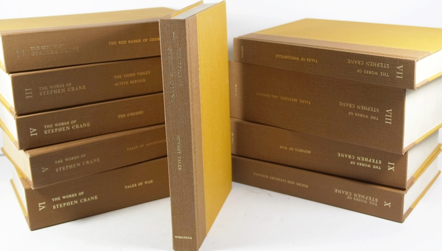 Image for The Works of Stephen Crane in 10 Volumes Complete:  Univ Virginia Edition by Stephen Crane